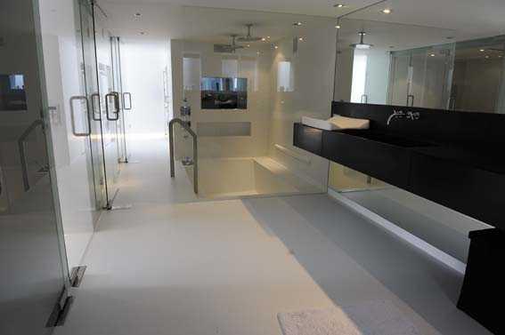 Naadloze Vloer Badkamer : Portfolio strakke naadloze vloeren system floors