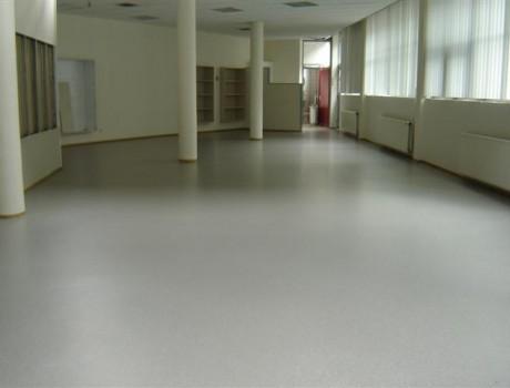 PU vloer in kantoorruimte