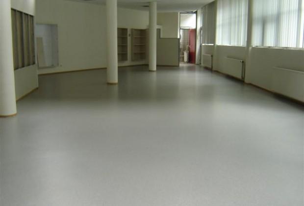 Portfolio pu vloer in kantoorruimte system floors