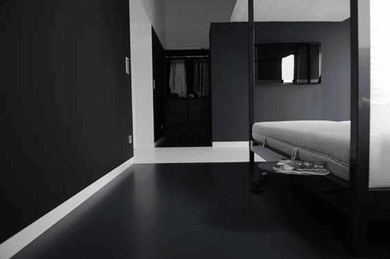 portfolio - badkamer witte vloer | system floors, Badkamer