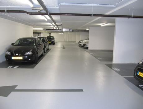 Parkeergarage vloeren