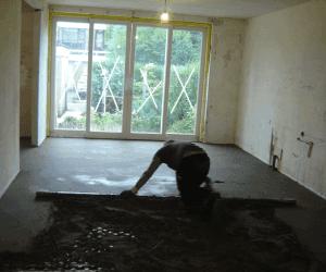 Isolerende ondervloer